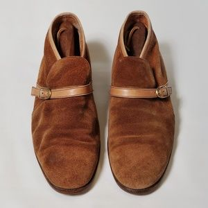 Bally suede Slip on Shoes 8D